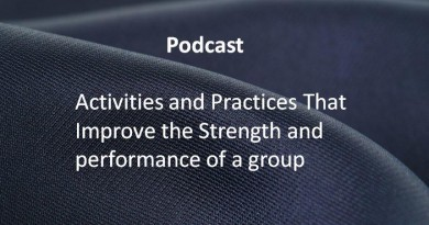 Activities and Practices That Improve the Strength and performance of a group.