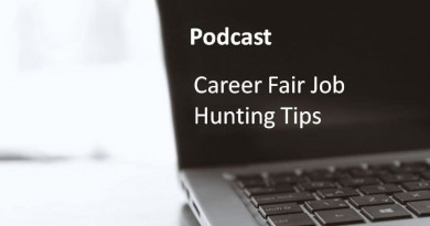 Career Fair Job Hunting Tips.