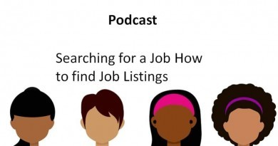 Searching for a Job How to find Job Listings.