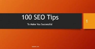 100 seo tips