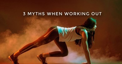 3 Myths working out